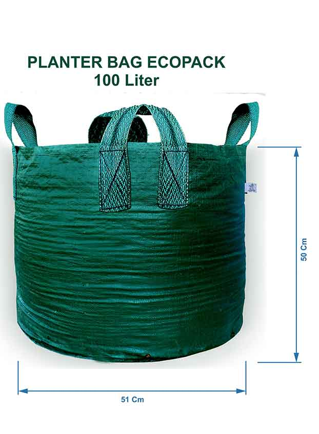 Planter Bag 100 Liter 4 Handles